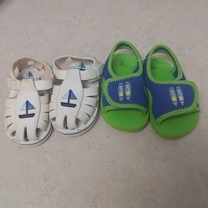 Other - Baby foam sandal bundle. 2 pair size 6/12 mo